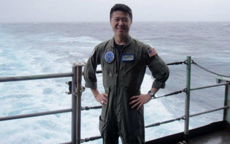 Lt. Cmdr. Edward C. Lin