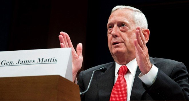 Expert to SASC: Mattis Will Be 'Stabilizing' Force in Trump Cabinet