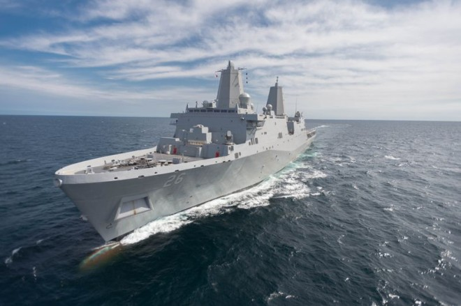 LPD John Murtha Completes Acceptance Trials As Navy, Congress Mull Program's Future