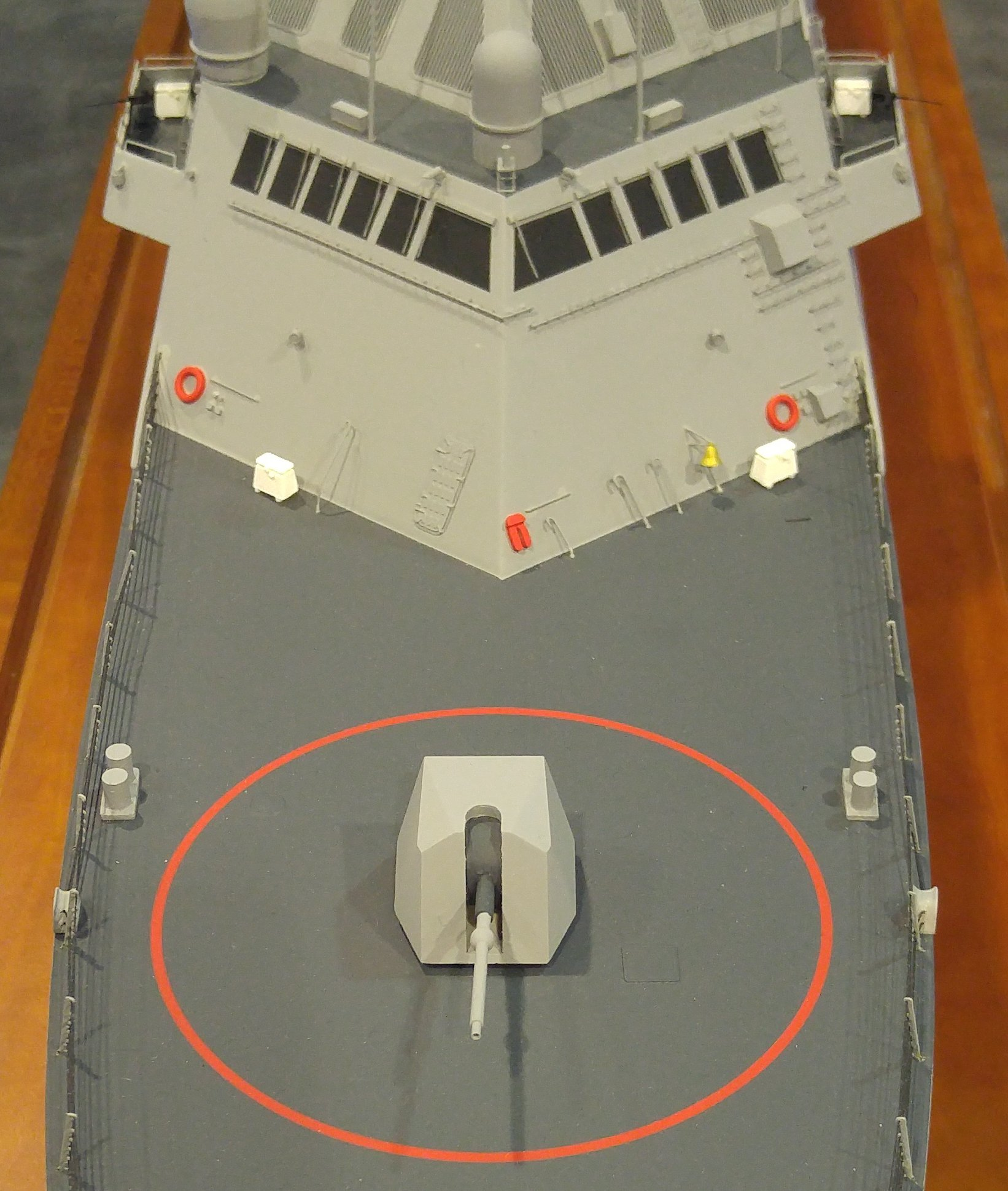 Lockheed Martin Multi-Mission Surface Combatant model. USNI News Photo