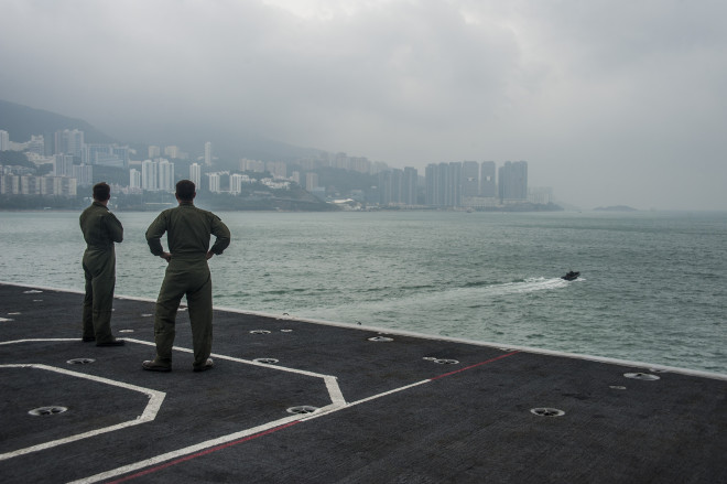 U.S. Navy Has Been Shut Out of Hong Kong Since July