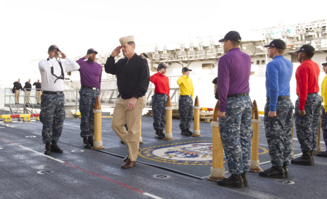 Moran Becomes 39th Vice Chief of Naval Operations; Burke Replaces Him as CNP