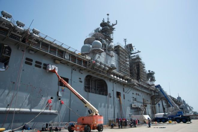 As Navy Faces $848M O&M Shortfall, Picking What Maintenance To Skip Is Full Of Risk