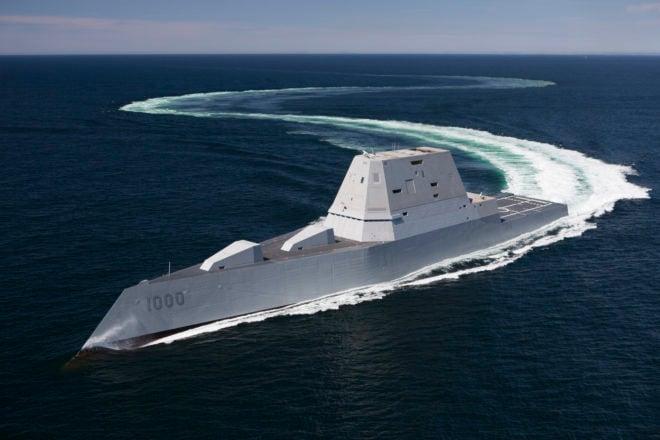Zumwalt Brings Mix of Challenges, Opportunities to Fleet