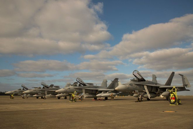 Marines Taking 30 Hornets From Boneyard, Navy Inventory To Address Readiness Crisis