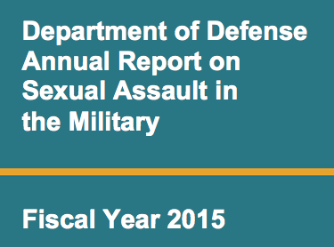 Document: Pentagon, Department of Navy Fiscal Year 2015 Sexual Assault Reports