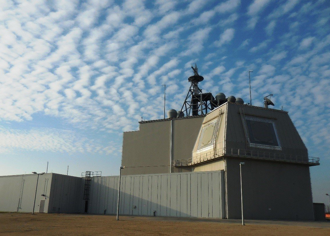 Romanian Aegis Ashore site. U.S. Missile Defense Agency Photo