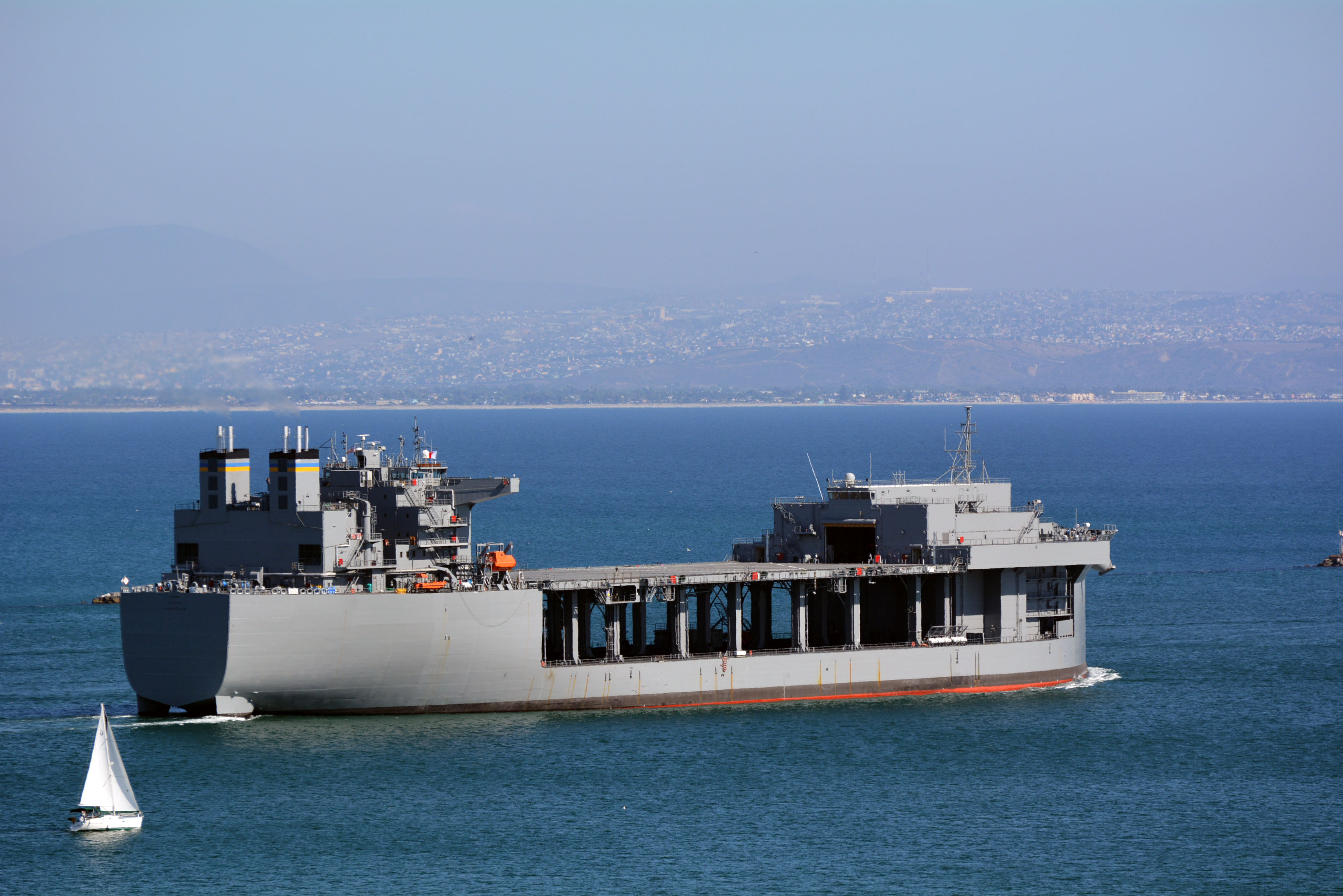 USNS Lewis B. Puller (T-ESB-3). Military Sealift Command Photo