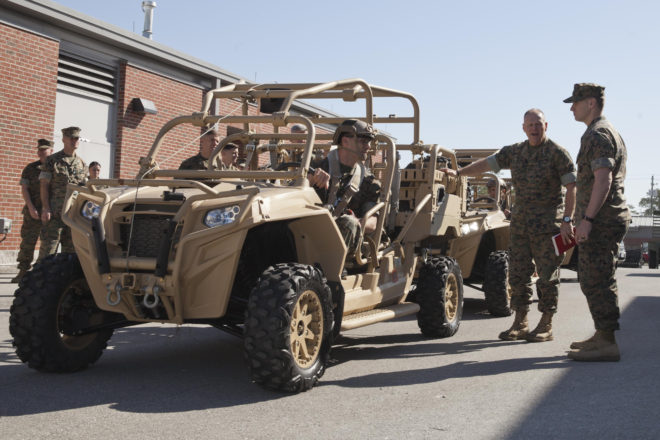 Marine Corps Warfighting Lab To Test New Utility Tactical Vehicle During RIMPAC