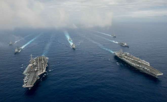 Navy, Congress Looking to Clarify Command and Control of U.S. Pacific Fleet