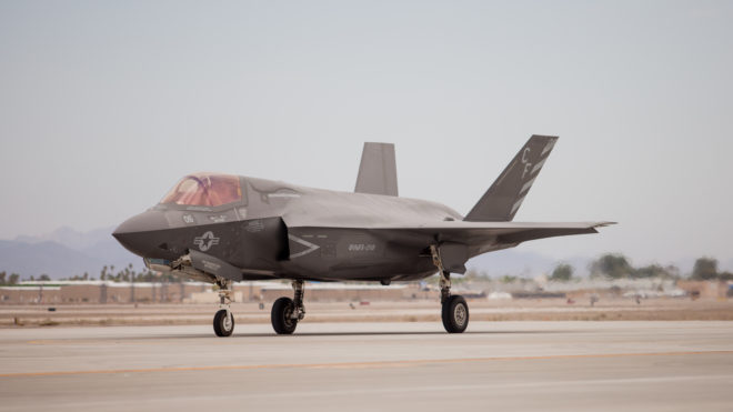 Second F-35B Squadron Stands Up At Marine Corps Air Station Yuma