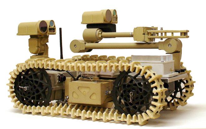 Smallest Of Navy's 3 Advanced EOD Robots Passes Critical Design Review