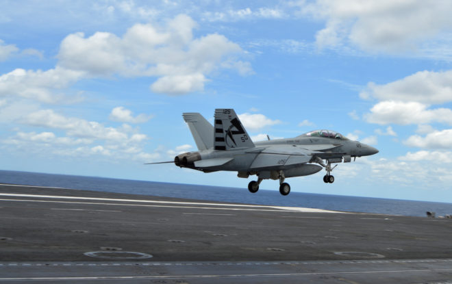 Navy's MAGIC CARPET Simplifies Carrier Landings; Interim Fielding This Fall