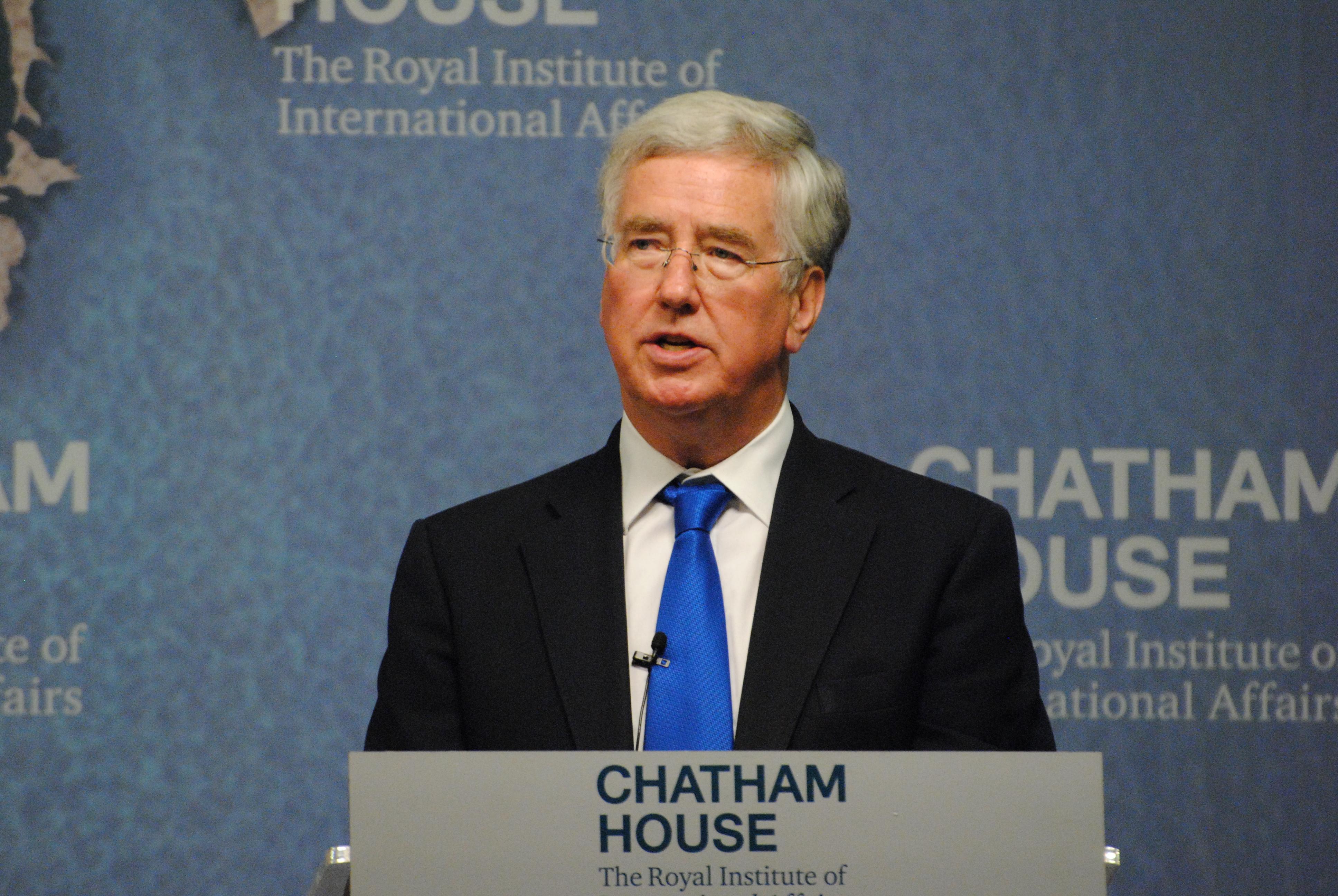 U.K. Defence Minister Michael Fallon