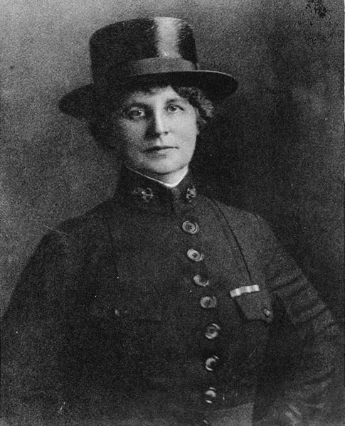 Lenah H. Sutcliffe Higbee joined the U.S. Navy Nurse Corps in 1908 as one of its original members and became the first woman to earn the Navy Cross in 1918. Photo courtesy Arlington National Cemetery.