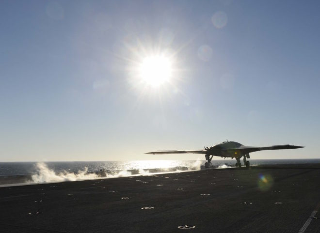 It's Official: 'MQ-25A Stingray' U.S. Navy's Name For First Carrier UAV