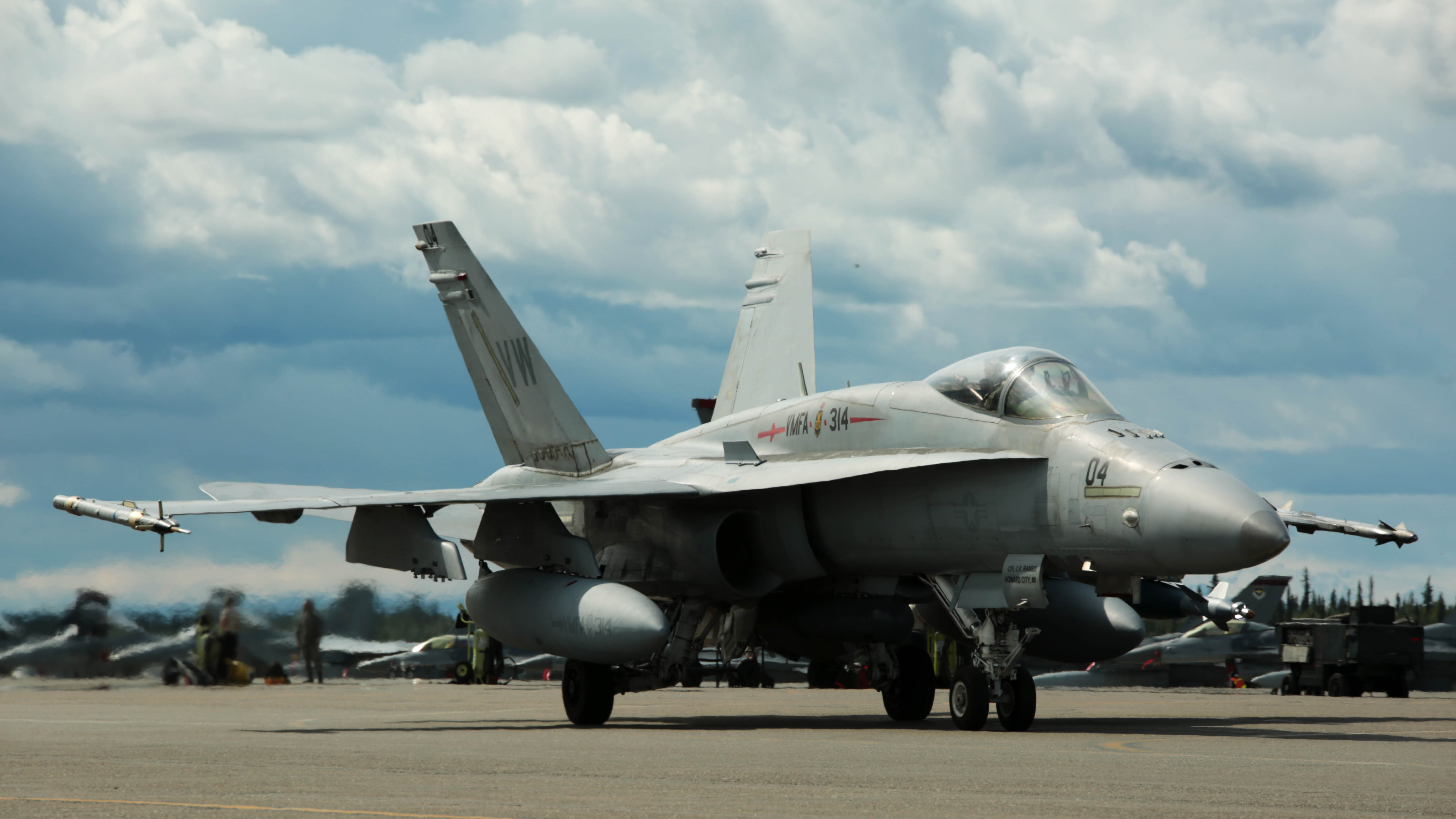 Marine Hornet Pilot Killed In Crash At Twentynine Palms