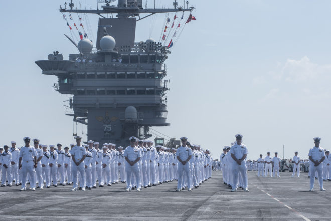 Harry S. Truman Strike Group Returns From Extended Deployment