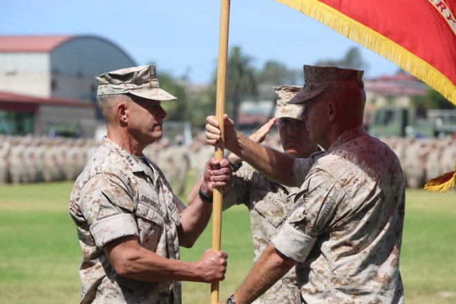 Marine Corps' I MEF changes hands
