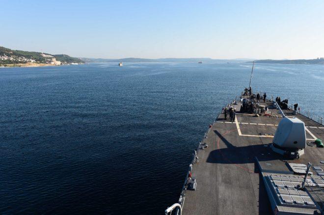 U.S. Destroyer, Amphib to Black Sea for Sea Breeze Exercise