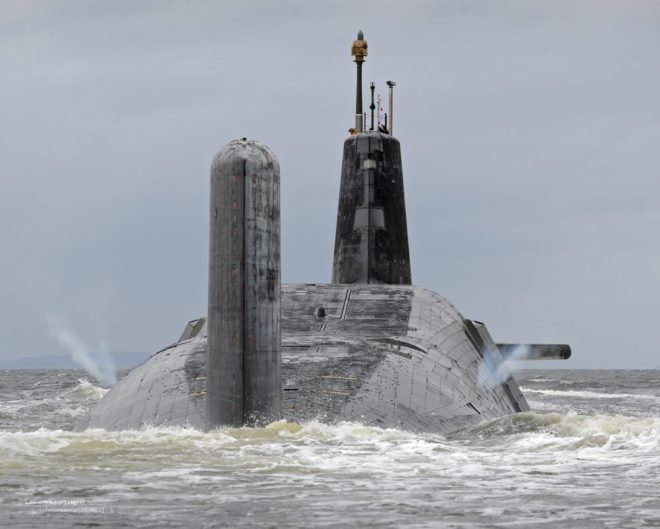 Britain Votes to Keep Trident Nuclear Deterrent, Approves New U.K. SSBNs