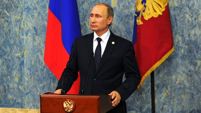 Russian President Vladimir Putin. Kremlin Photo