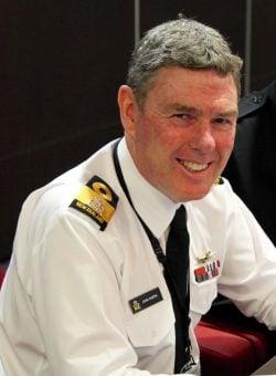 New Zealand Chief of Navy John Martin. US STRATCOM Photo