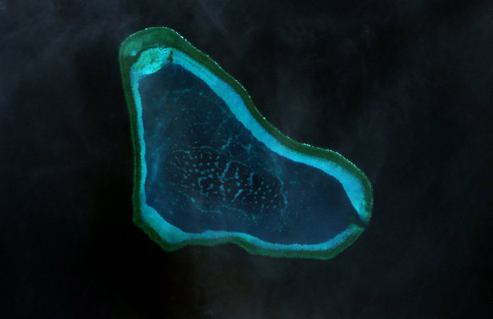 Scarborough Shoal. NASA Photo