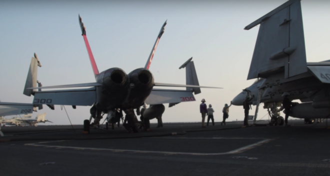 Video: Flight Operations on USS Dwight D. Eisenhower