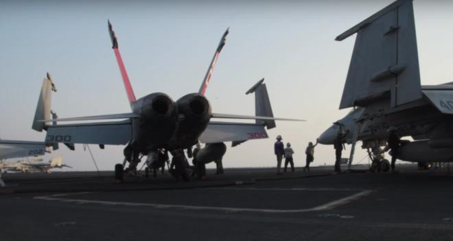 Video: Flight Operations on USS Dwight D. Eisenhower