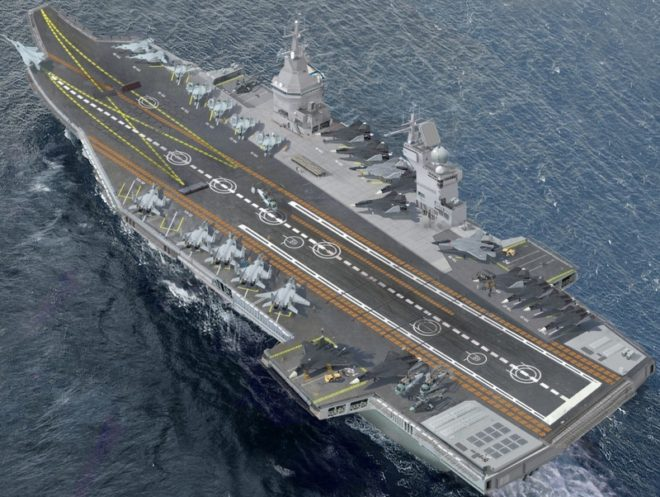 Russians Pitch 'Storm' Nuclear Carrier Design to India