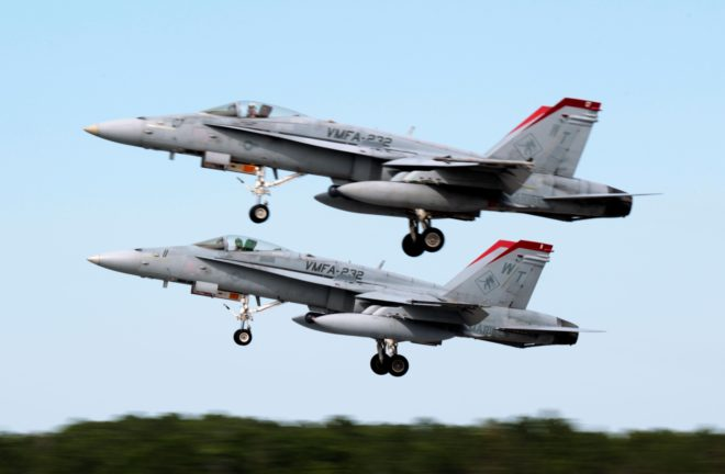 Marine Aviation Takes 24-Hour Pause To Assess After Recent Hornet Crashes
