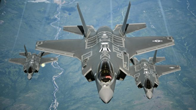 U.S. Air Force Declares Initial Operational Capability on F-35A