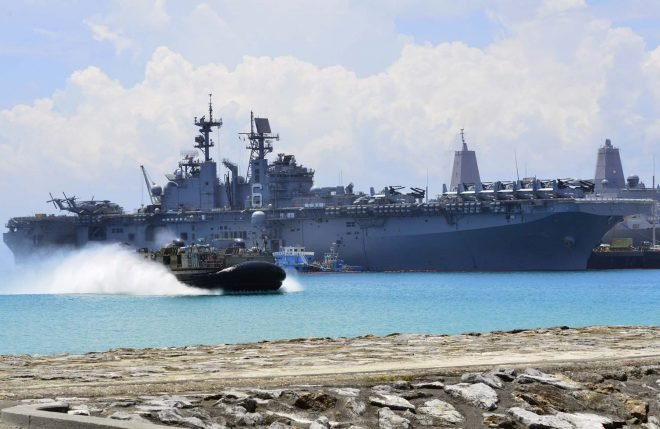 Bonhomme Richard ESG, 31st MEU Sets Out for Fall Deployment