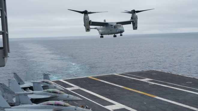Navy, Marines put V-22 to the Test in Carrier Experiment