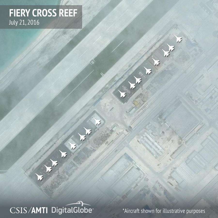 Center for Strategic and International Studies/Asia Maritime Transparency Initiative/DigitalGlobe Image