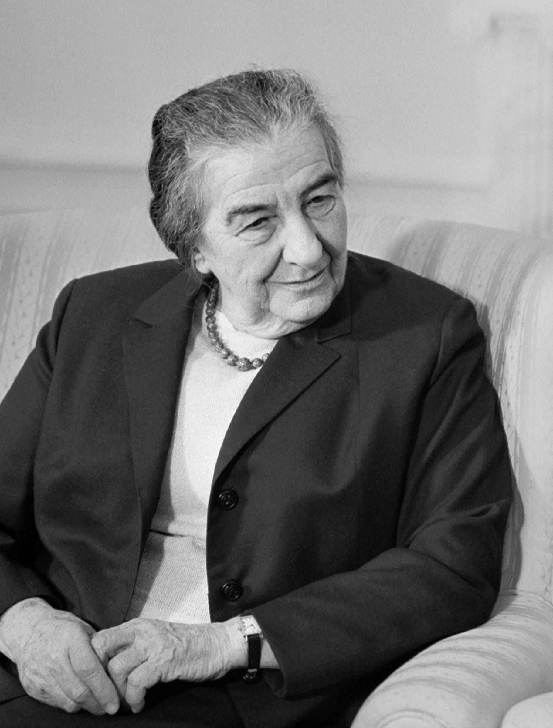 Golda Meir in 1973.