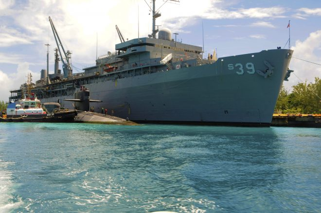 PACFLEET Wants To Improve How Sub Tender Crews Are Used In Guam