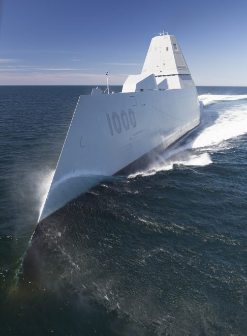 USS Zumwalt Soon to be Underway After Repairs