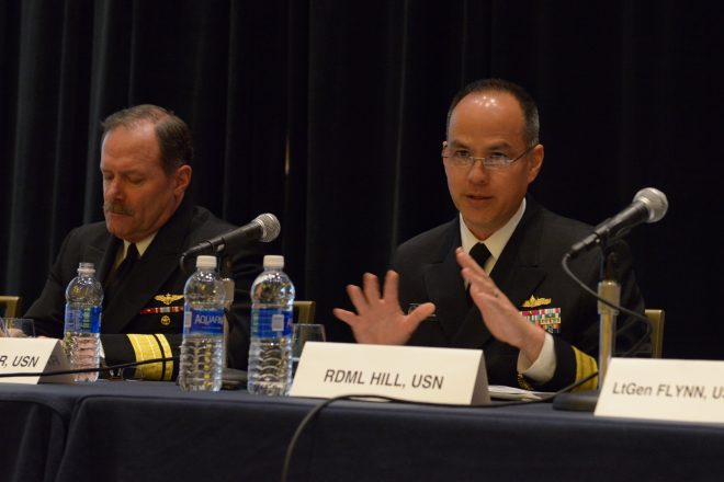 PEO IWS Rear Adm. Jon Hill Named Next MDA Deputy Director