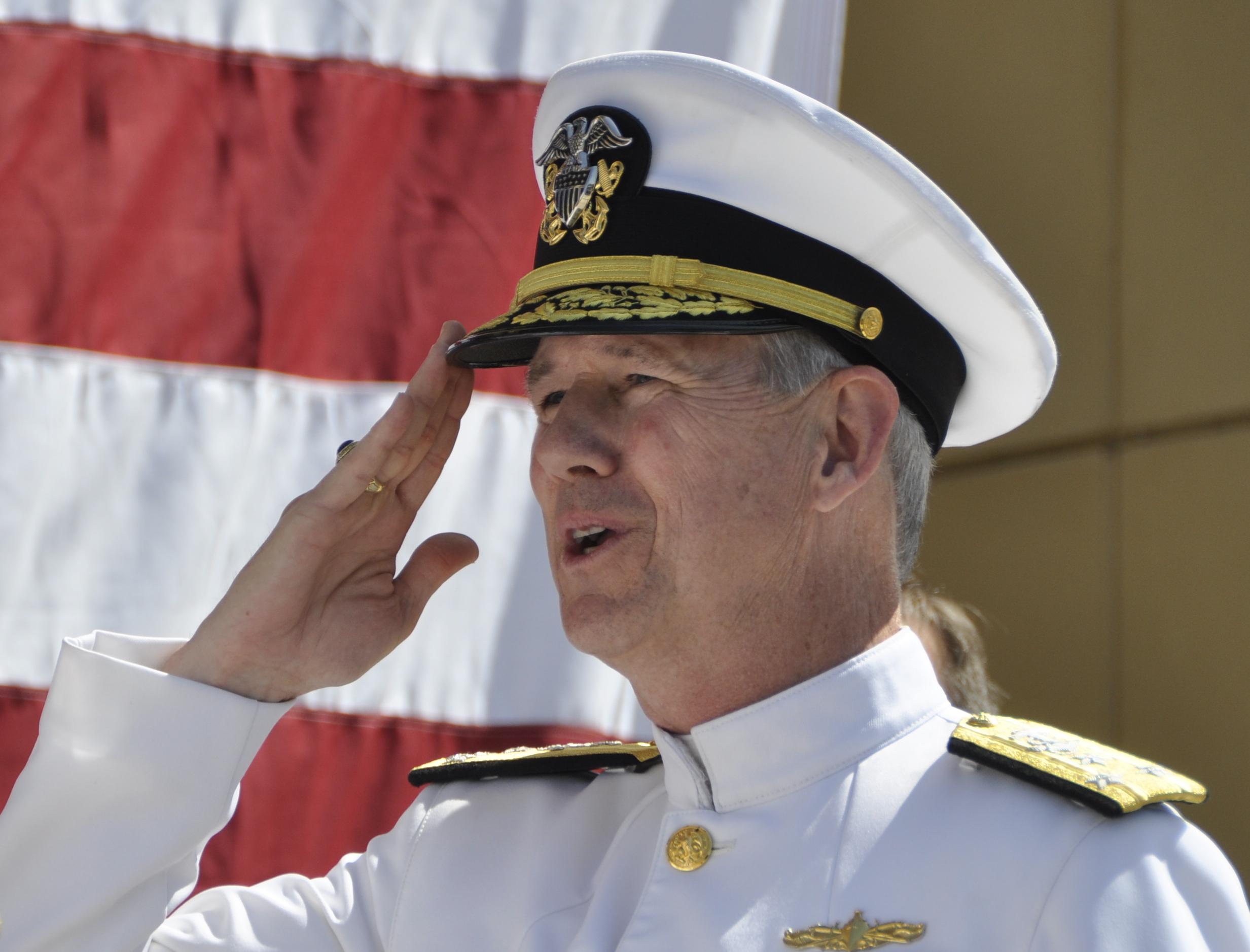 Vice Adm. Thomas Moore relieves Vice Adm. William Hilarides as commander, Naval Sea Systems Command (NAVSEA) on June 10, 2016. US Navy Photo