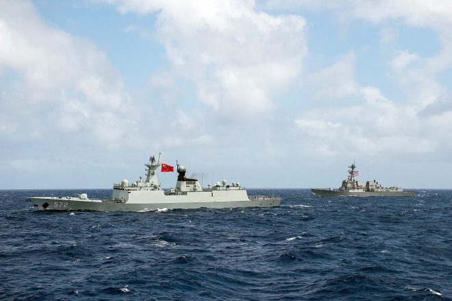 China Disinvited from Participating in 2018 RIMPAC Exercise