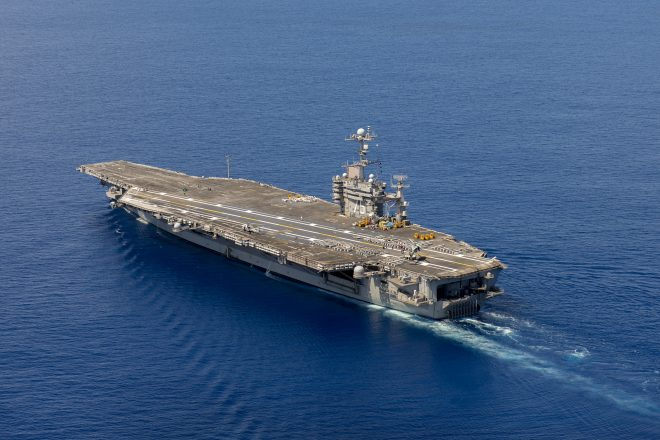 Carrier USS Harry S. Truman Enters Norfolk Yard for Overdue Repairs