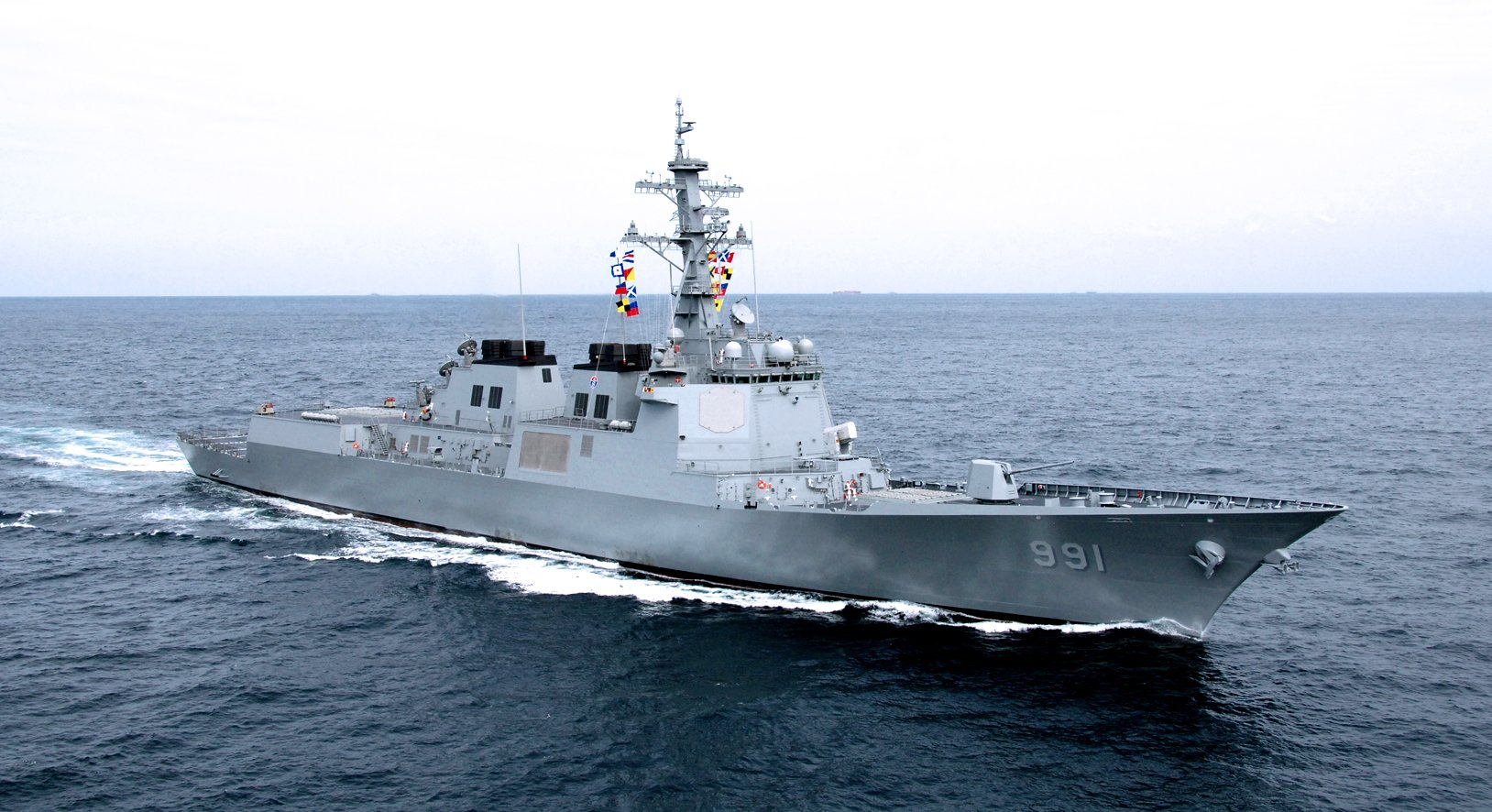 ROKS Sejong the Great (DDG-991) in 2008. RoK Navy Photo