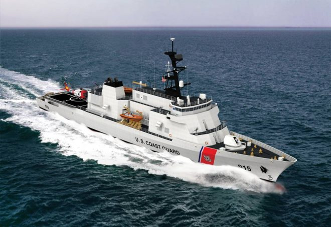 Coast Guard Celebrates Birthday by Naming 11 Planned Offshore Patrol Cutters