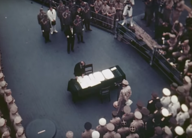 Video: Color Footage of Japan's World War II Surrender