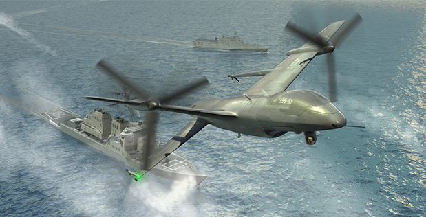 Marines Pursuing Large Ship-Based UAV For Comms, ISR, Fires