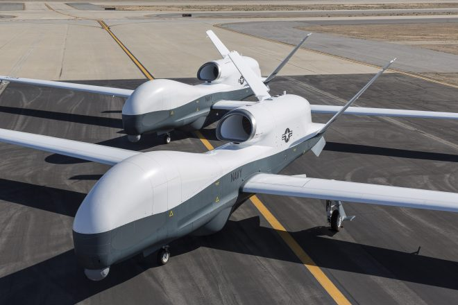 Navy Buys Three MQ-4 Tritons, Pays For Growler Jamming Upgrade Development