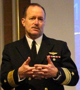 Rear Adm. Michael C. Manazir. US Navy Photo