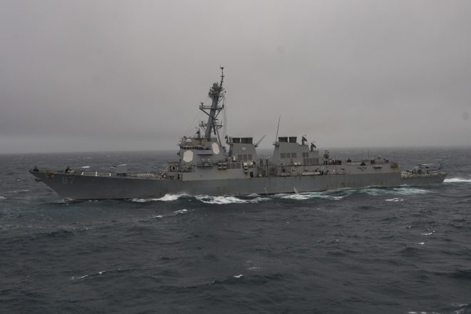 Pentagon Still Unsure if USS Mason Was Attacked on Saturday